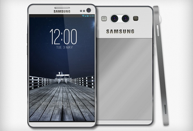 samsung-galaxy-s4 Rumored Samsung Galaxy S4 Features 1080p Display, To Be Shown at CES?