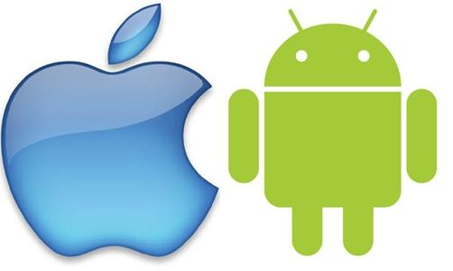 121221-appleandroid iOS Smartphone Market Share Breaks 50% in US