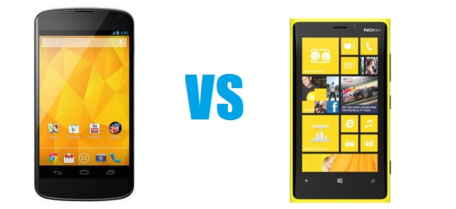 920nexus The Nokia Lumia 920 or LG Nexus 4: Which is right for you?