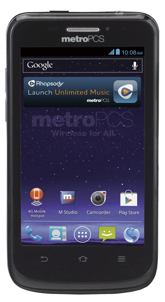 ZTEAvidFront-640x1167 ZTE Avid 4G Drops Today for MetroPCS