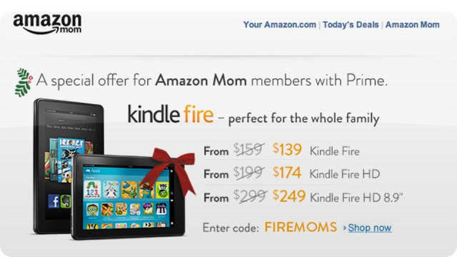 amazon-original-640x360 Entire Kindle Fire Family on Sale Today Only, for Mom's At Least
