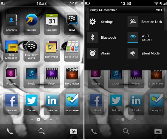 bb1 High-quality Images of Blackberry 10 Leak to the Net