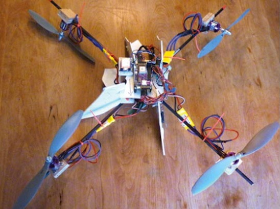 drone Dad Builds Flying Drone to Track Kids on the Way to School