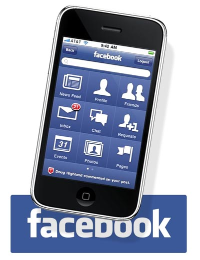 facebook-i Facebook Releases Automatic Photo Sync