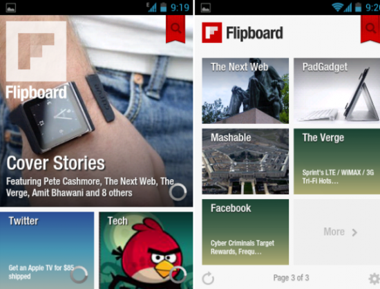 flipboard A Look at Some of the Best Apps for your New Kindle Fire Tablet