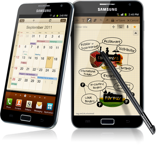 galaxynote Samsung Galaxy Note Getting Jelly Bean and Multi-Window Support