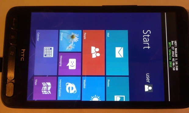 hd2-rt HTC HD2 Smartphone Now Running Windows RT?