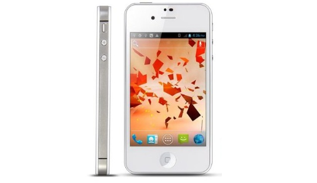 iAndroid Android 4.0 iPhone Knockoff with Dual SIMs for $140