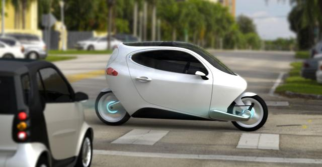 litmotors Lit Motors C-1, Bike or Car? You Decide