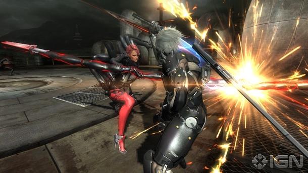 mistralbattle Previewing the Metal Gear Rising: Revengeance Epic Boss Battles