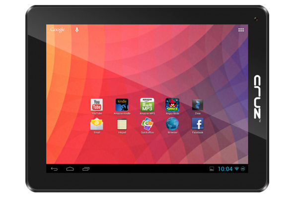 Cruz-micro-velocity Velocity Introduces Two Budget 10-inch Tablets with Jelly Bean Onboard, Starting at $199