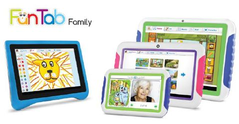 Ematic-FunTab Ematic FunTab Family Tablet Range Running Android 4.0 Launches at CES