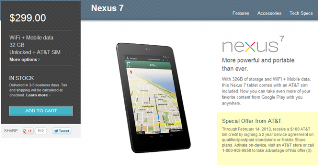 atT-offer-640x335 AT&T Offering $100 Credit for Nexus 7 HSPA+ Users With Two Year Contract