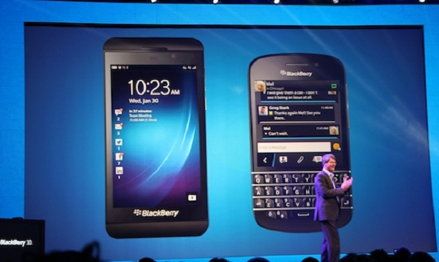 b-official Blackberry Q10 and Blackberry Z10 Official, Launching Tomorrow in UK