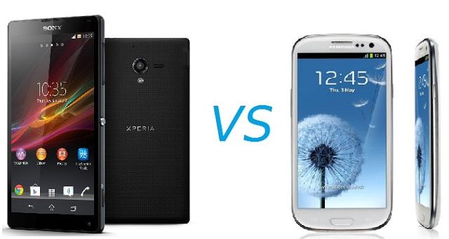 Samsung Galaxy S3 vs Sony Xperia ZL