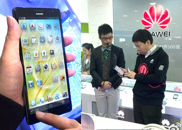 huawei-mate Huawei Ascend Mate 6.1-inch Phablet Confirmed