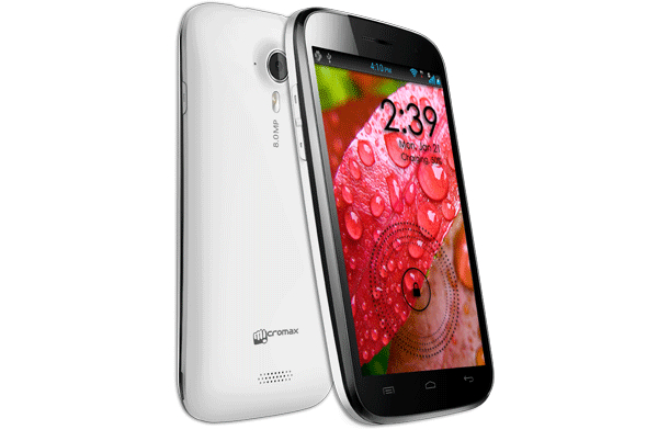 micromax-canvas-hd Micormax Canvas boasts quad-core and 5-inch display for just $279