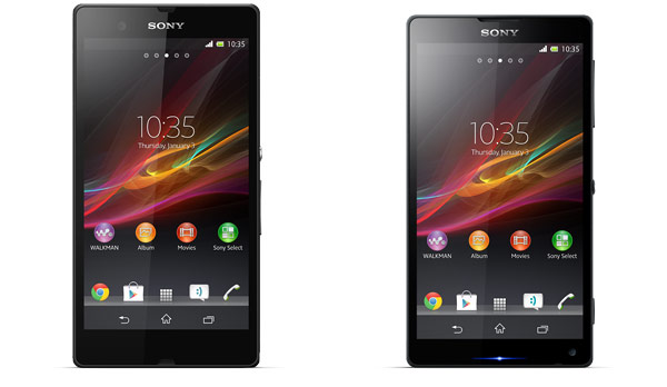 sonyzandzl Sony Rumored to Reveal Xperia Z and ZL at CES