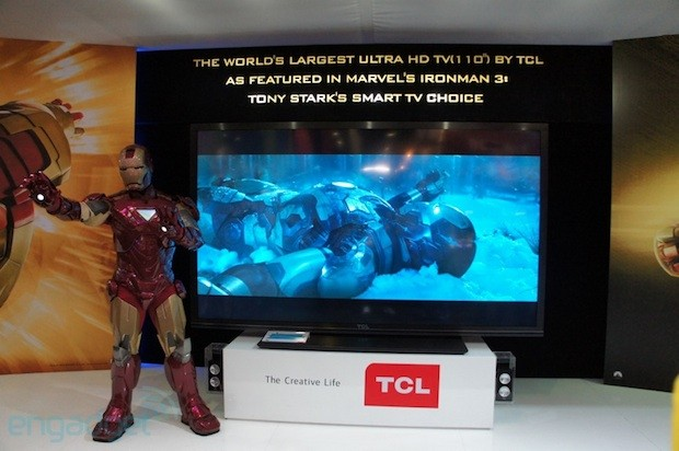 tcl-ces-2013-movo-google-tv-110-inch-uhd-4k-iron-man TCL's 'China Star' 110-inch 4K Google TV
