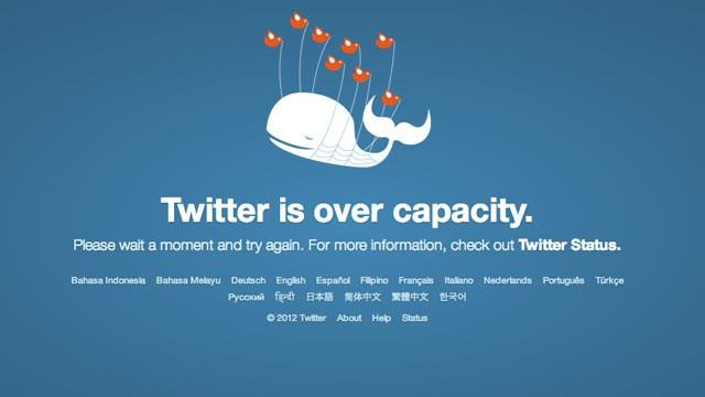 twitter-error Twitter Outage Being Worked On, Back in Service for Many Users Already