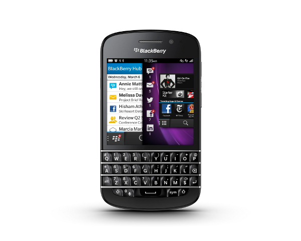 Blackberry-Q10 Blackberry Q10 Still Many Months Away From U.S. Launch