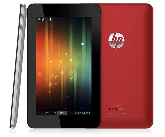hp-slate-7 HP Slate 7 Android Tablet Announced, But Can it Compete?