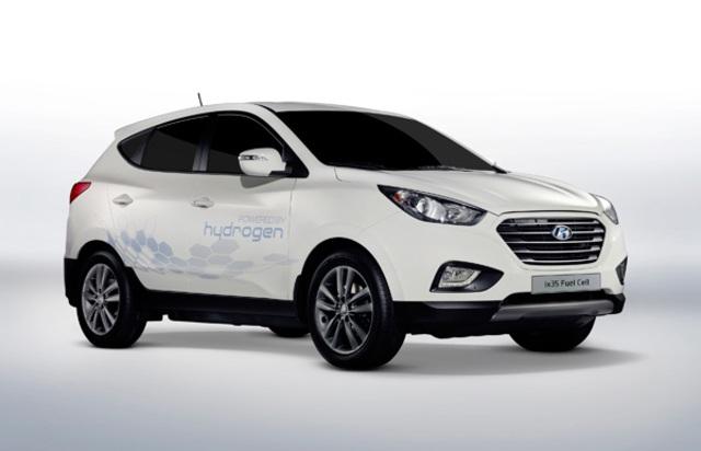 hyundai-hydrogen-fuel-cell-car Hyundai Promises 1000 Hydrogen Fuel Cell Cars By 2015