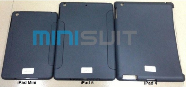 ipad-5-case-leaked Alleged iPad 5 case suggest iPad Mini style redesign