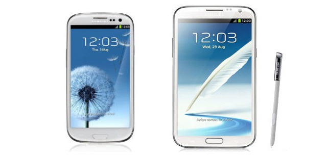 notes3 Samsung Galaxy S3 for $0.01 with Sprint, Note 2 just $150