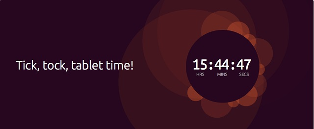 tab-countdown Ubuntu for Tablets Coming Today