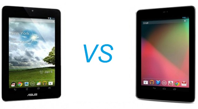 tabby Asus Nexus 7 versus Asus MeMo Pad 7: How Does the Pad 7 Compare to its Older Brother?