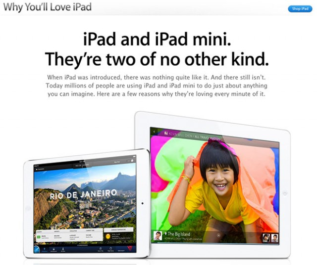 "13.03.28-Why_iPad-640x536 Apple Posts ""Why you'll Love iPad"" Page"