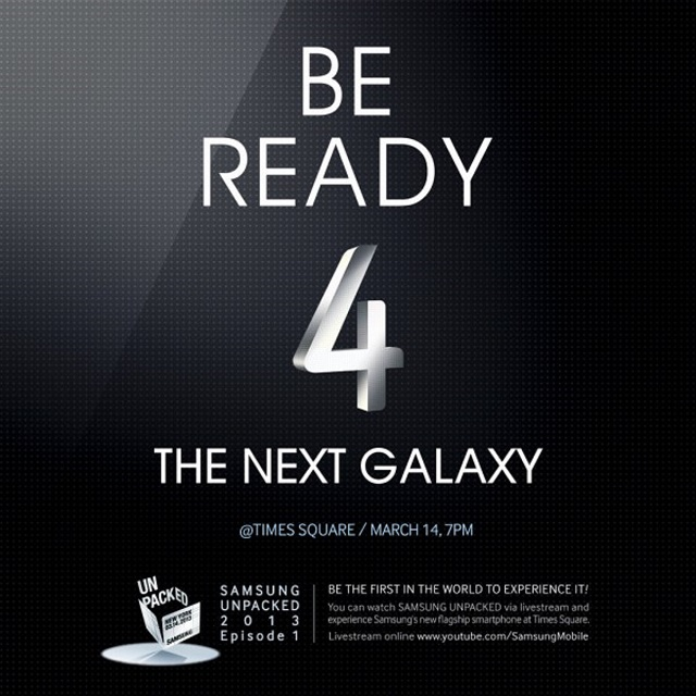 samsung-times-square-galaxy-s4-invite Samsung Continues Teasing About March 14th Galaxy S4 Unveil