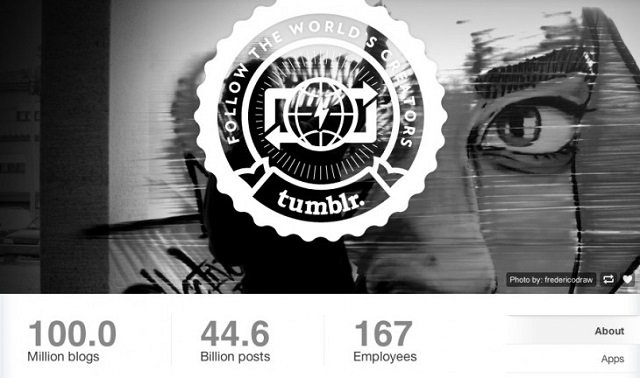 tumblr-100-million Tumblr Reaches 100 Million Blogs