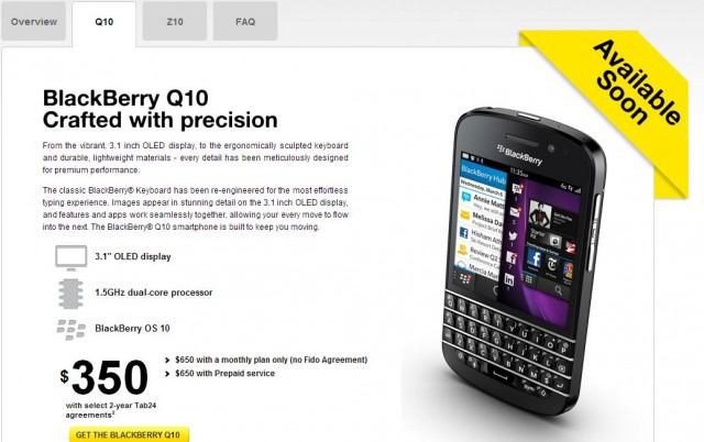 130410-bbq10-640x402 BlackBerry Q10 Shows Up on Fido Website, Launch Imminent