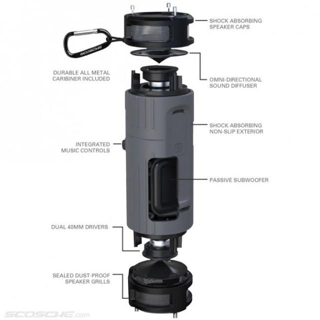 130412-boom1-640x640 Scosche boomBOTTLE Wireless Speaker Puts Big Sound Between Your Legs
