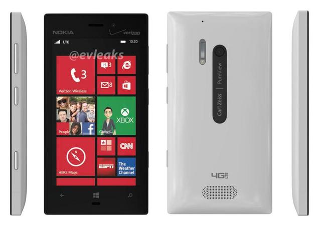 lumia-928-white Verizon Nokia Lumia 928 Leaked