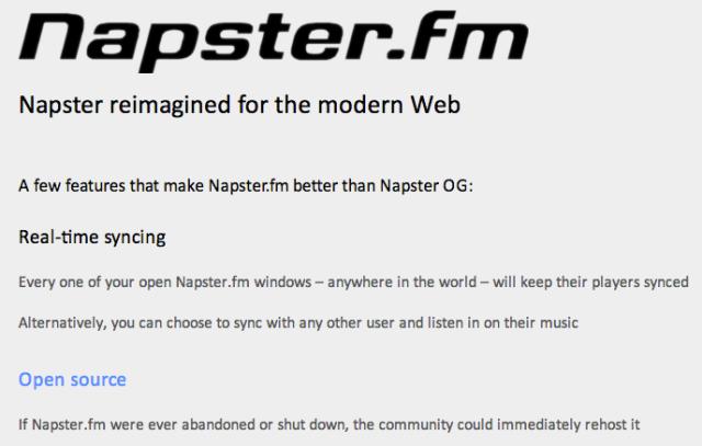 napster fm