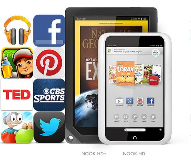 NOOk Barnes & Noble Mother's Day Offer For Nook HD And HD+