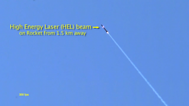 lockheed-martin-adam-1 Lockheed Martin's ADAM High Energy Laser Destroying A Rocket (Video)