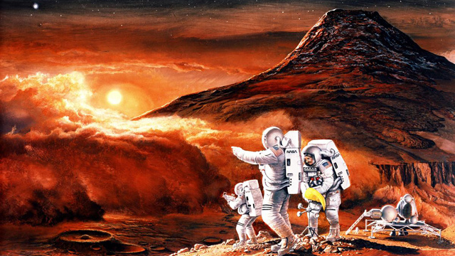 mars-radiation-nasa Manned Trip To Mars: Current Radiation Shielding Not Going To Help