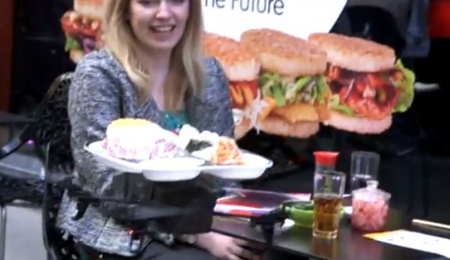 130610-yosushi-640x370 Video: UK Restaurant Delivers Food with iTray Flying Drone