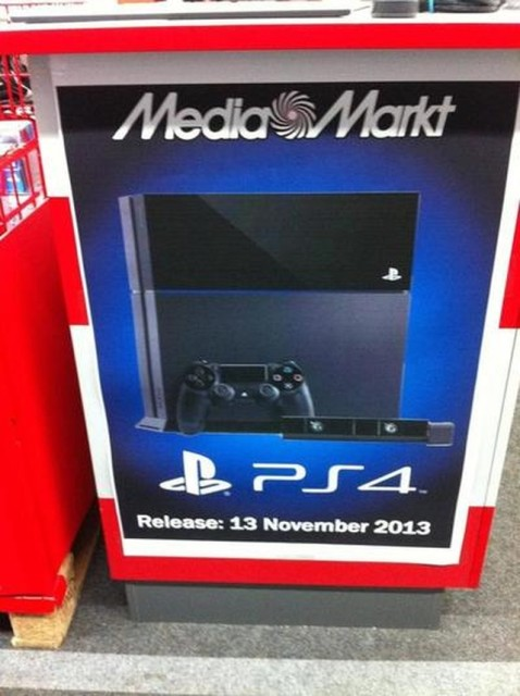 130620-ps4 Poster Reveals Sony PS4 to Launch on November 13