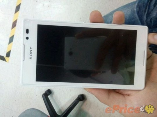 front-zu New Sony Xperia ZU Pictures Leak to the Web