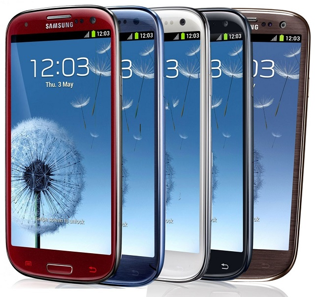 galaxy-s3-colors Now is the Perfect Time to Consider the Samsung Galaxy S3: Penny Contract Pricing, As Low as $500 Outright