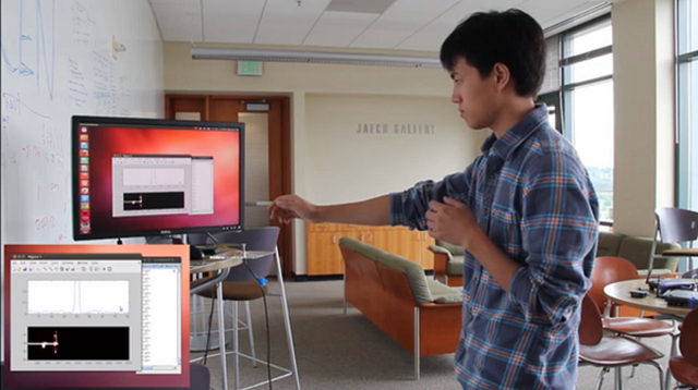 wisee WiSee Uses Wi-Fi To Detect Your Movements (Video)
