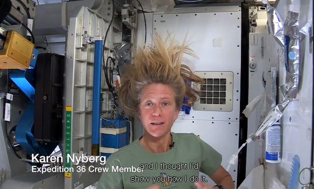 space-hair-wash How To Wash Your Hair In Space