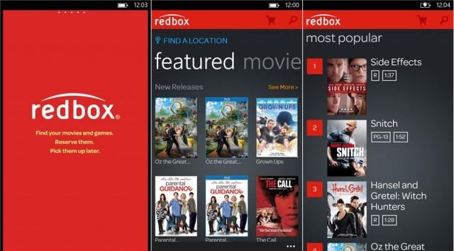 windowsphone8redbox-640x354 Best Apps of the Week (7/1): WP8 Edition