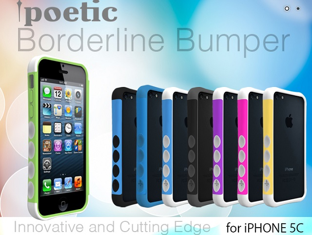 borderline-bumper Casemaker 'Poetic' Starts Pre-Ordering for its iPhone 5C Case, Ahead of Apple's Unveiling