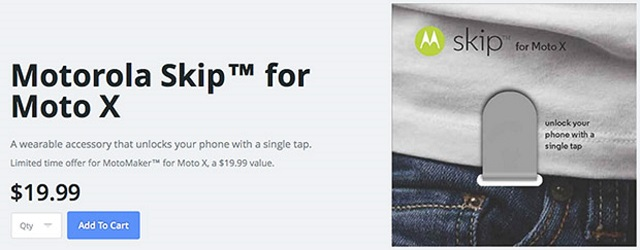 moto-x-skip Motorola Skip NFC Accessory Will Make Logging in Easier For You - And Potential Thieves